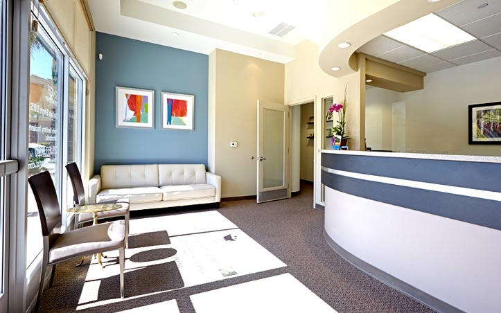 Singh Dental Center - Front Reception Area - A Tracy CA Dental Practice